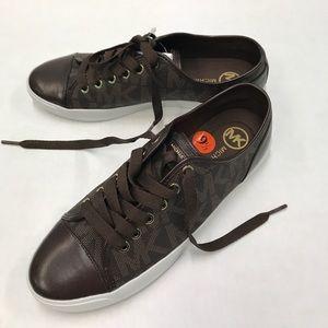 Sale Michael Kors Brown Mk Shoes 95 Nwt