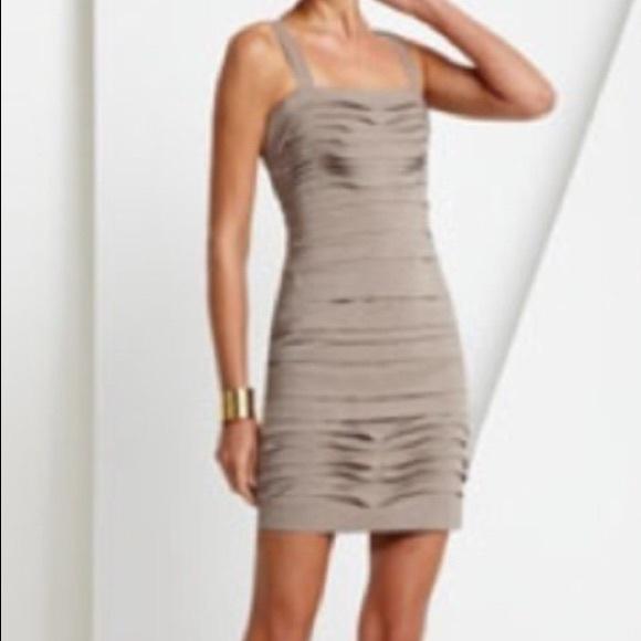 BCBGMaxAzria Dresses & Skirts | BCBG Cocktail Dress In Gravel | Poshmark