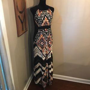 Chico's Printed Maxi Dress!!