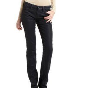BCBG-Max-Azria-Skinny-Black-Coated-Jeans-Icy-