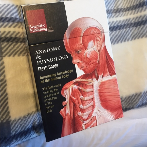 Accessories Nursing Anatomy And Physiology Flash Cards Poshmark