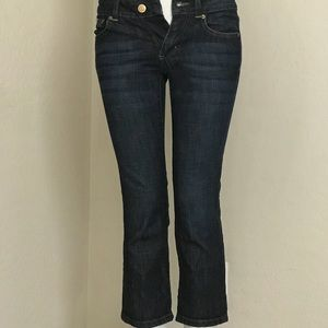 Lilly Pulitzer  Size 0 Palm Beach Jeans Capri