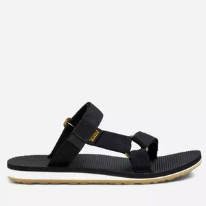 TEVA Original slip on sandals black