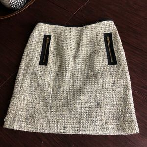 Vince Camuto tweed skirt