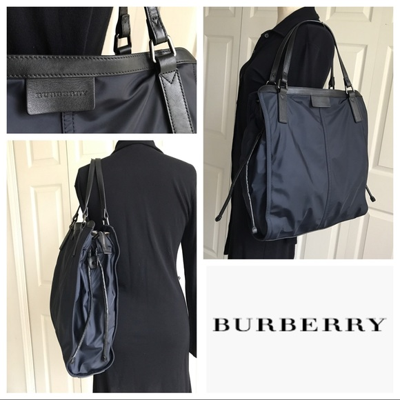 Burberry Handbags - ⚡️1-day⚡️SALE Burberry Sm Buckleigh Nylon Tote 61d24faa7472f