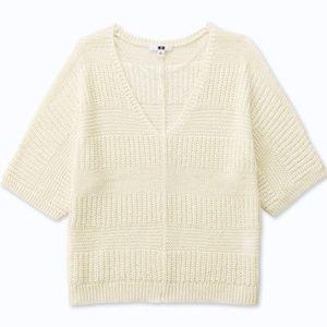 Uniqlo Knit 3/4 Sleeve Sweater