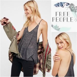 Free People Coral Oversized Throw Over Tank