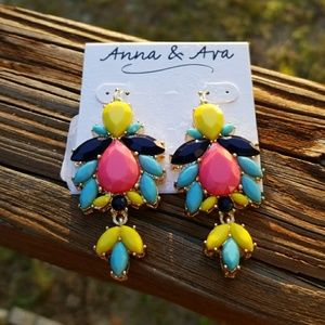 Anna & Ava Jewelry - 🌻🌹 Vibrant Colorful EARRINGS by Anna & Ava 🎁🛍