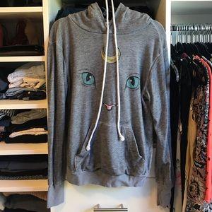 Wildfox cat sweater Size S