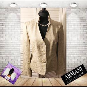 Armani Collezioni  Lined Jacket Size 8