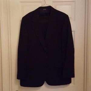 2pc Black suit Adolfo