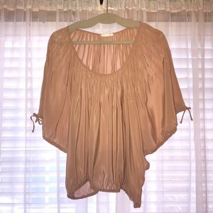 Marty M Blush/Nude Blouse