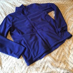 Women's purple lush blue fleece.
