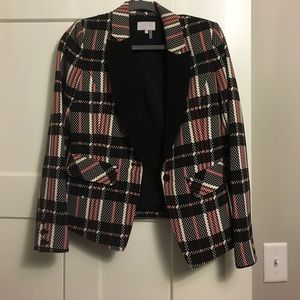 Red, Black, Tan Blazer