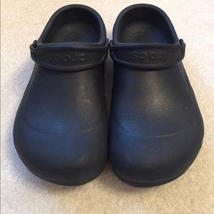 Crocs slip and oil resistant clogs