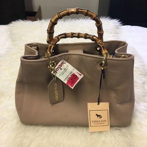 Emma Fox soft leather bag
