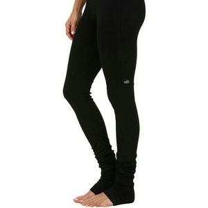 Black Alo goddess leggings in size medium