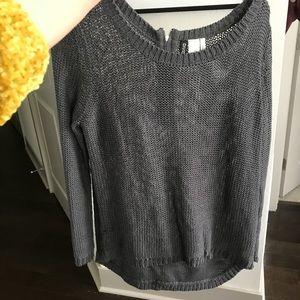 Sweaters - Grey kit sweater