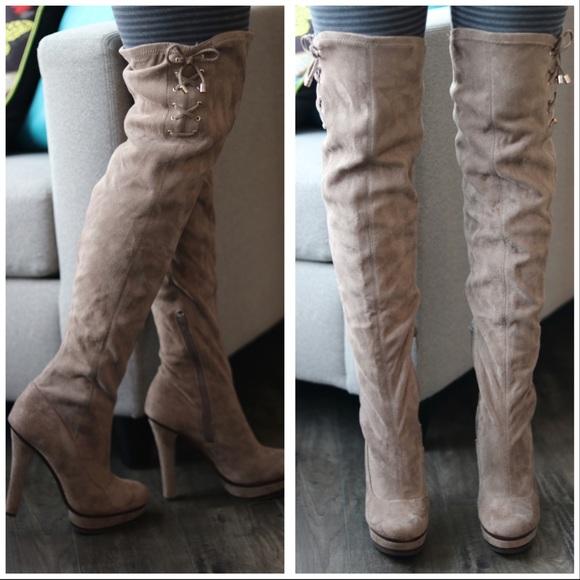 Jennifer Lopez Shoes   Thigh High Boots
