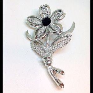 SARAH COVENTRY Brooch Pin ⚜Black Beauty Collection