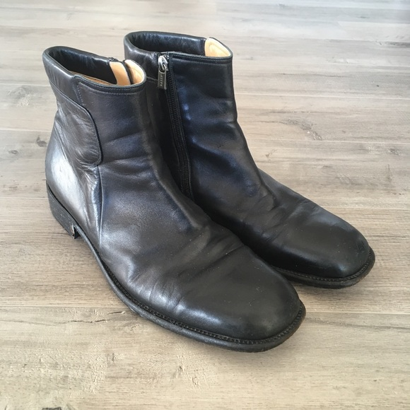 Bally Other - BALLY ~ men s black leather sabo boot size 12 f609848326