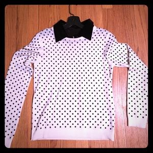 Alice & Olivia Polka Dot Sweater