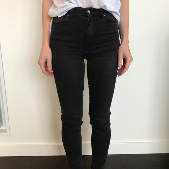 04ac2504 Zara High Waist Jean
