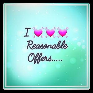 Other - I love offers.....