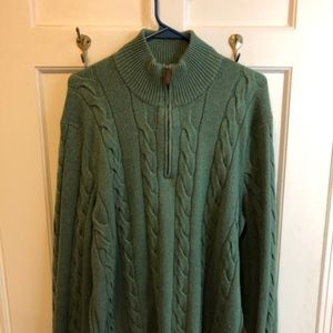 polo jackets mens ralph lauren green cable knit sweater