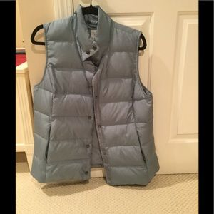 JJILL Down Vest - Light Blue