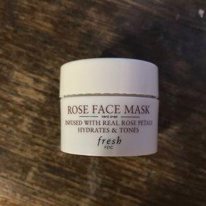 Other - NEW Fresh Rose Face Mask sample 0.5 oz 15ml