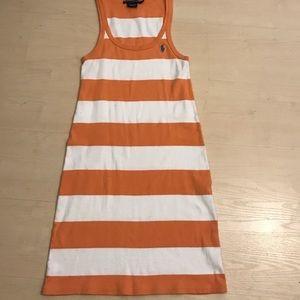 Polo tank top dress