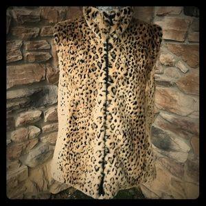 Kristen Blake Reversible Faux Fur Vest
