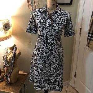🔥SALE 🔥 Ann Taylor black & white dress