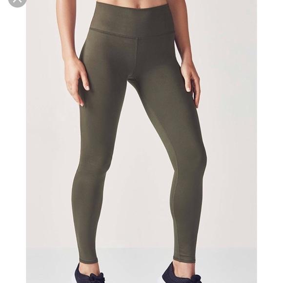 a7ac1bcc77538 Fabletics Pants   Nwt Army Green Highwaisted Leggings   Poshmark