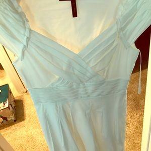 Bcbg white dress size 2