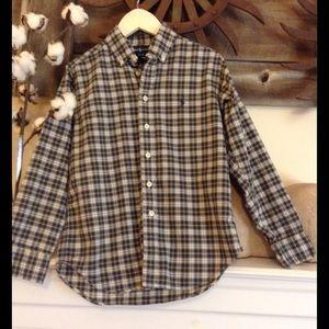 Ralph Lauren Boys Button Down Shirt Size S (8-10)