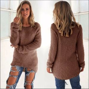 Sweaters - Just in!! Super cozy, stretchy and fuzzy sweater