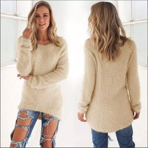 Sweaters - Super cozy, stretchy and fuzzy sweater