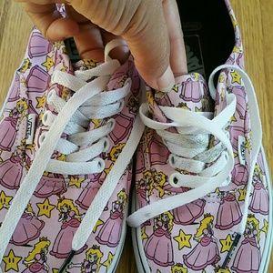 9b680cf133 Vans Shoes - Nintendo Princess Peach Vans Size 9.5W 8.0M