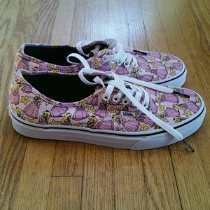 67811aa56c9 Vans Shoes - Nintendo Princess Peach Vans Size 9.5W 8.0M