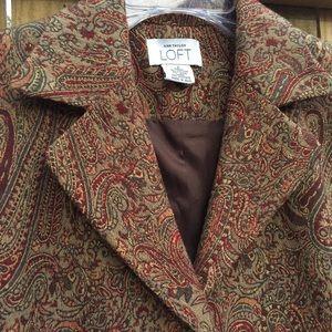 Women's Paisley Trench Coat