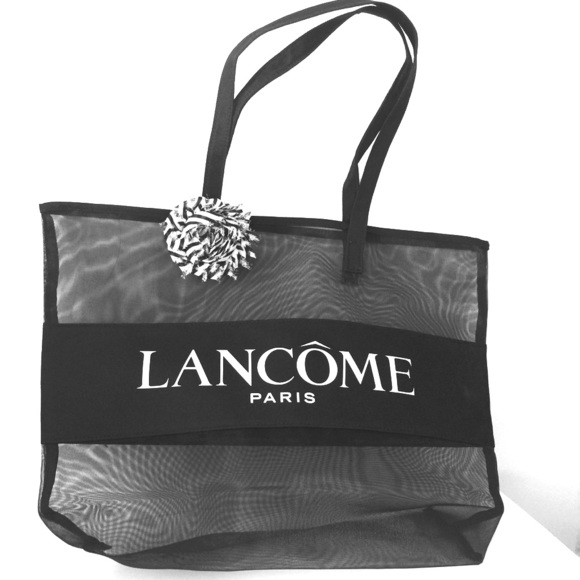 9cc202d81e5d8 Lancome Handbags - NEW Lancôme Black Mesh Tote Bag