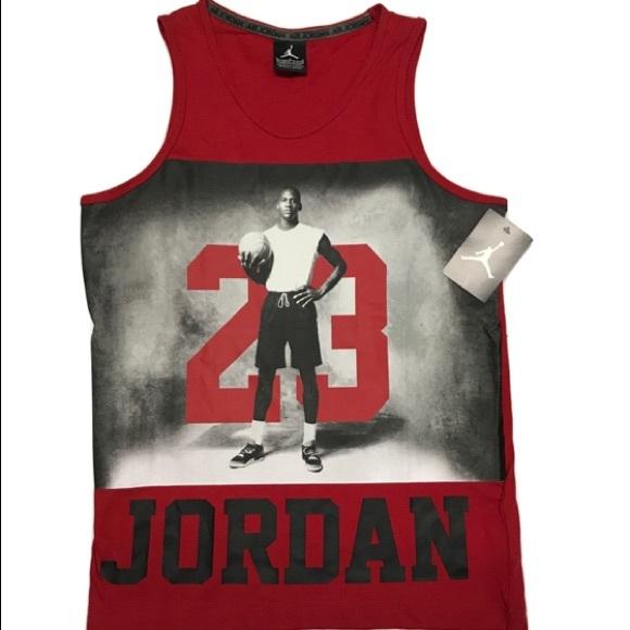 7cd87799929649 Air Jordan Graphic Basketball Tank Top. NWT. Jumpman.  M 59ffa5c23c6f9f4cc10f902d. M 59ffa5cdf0137d9b940f7c3a.  M 59ffa5d6fbf6f9acbe0f6620