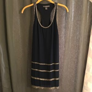 Navy Beaded Dress