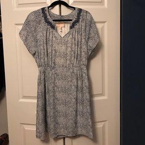 Fashion forward short sleeve dress
