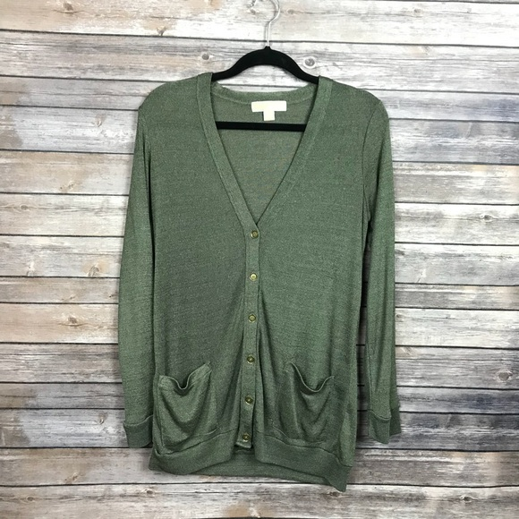 71% off Michael Kors Sweaters - Green and Gold Sheer Michael Kors ...