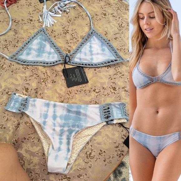dc169712bac Acacia Shibori bikini size S Andy top Gili bottom