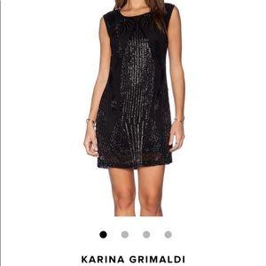 Karina Grimaldi Xs sequin dress