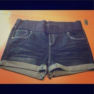 Pants - Plus Size Maternity Shorts